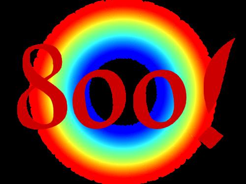 800 seguidoras