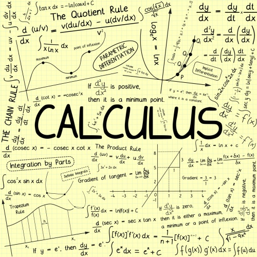"""CALCULUS"" Theme (mathematics math maths science course notes)"