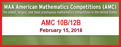 2018 AMC 10B-12B