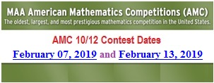 The AMC 10/12 Contests at Montgomery College on February 7, 2019