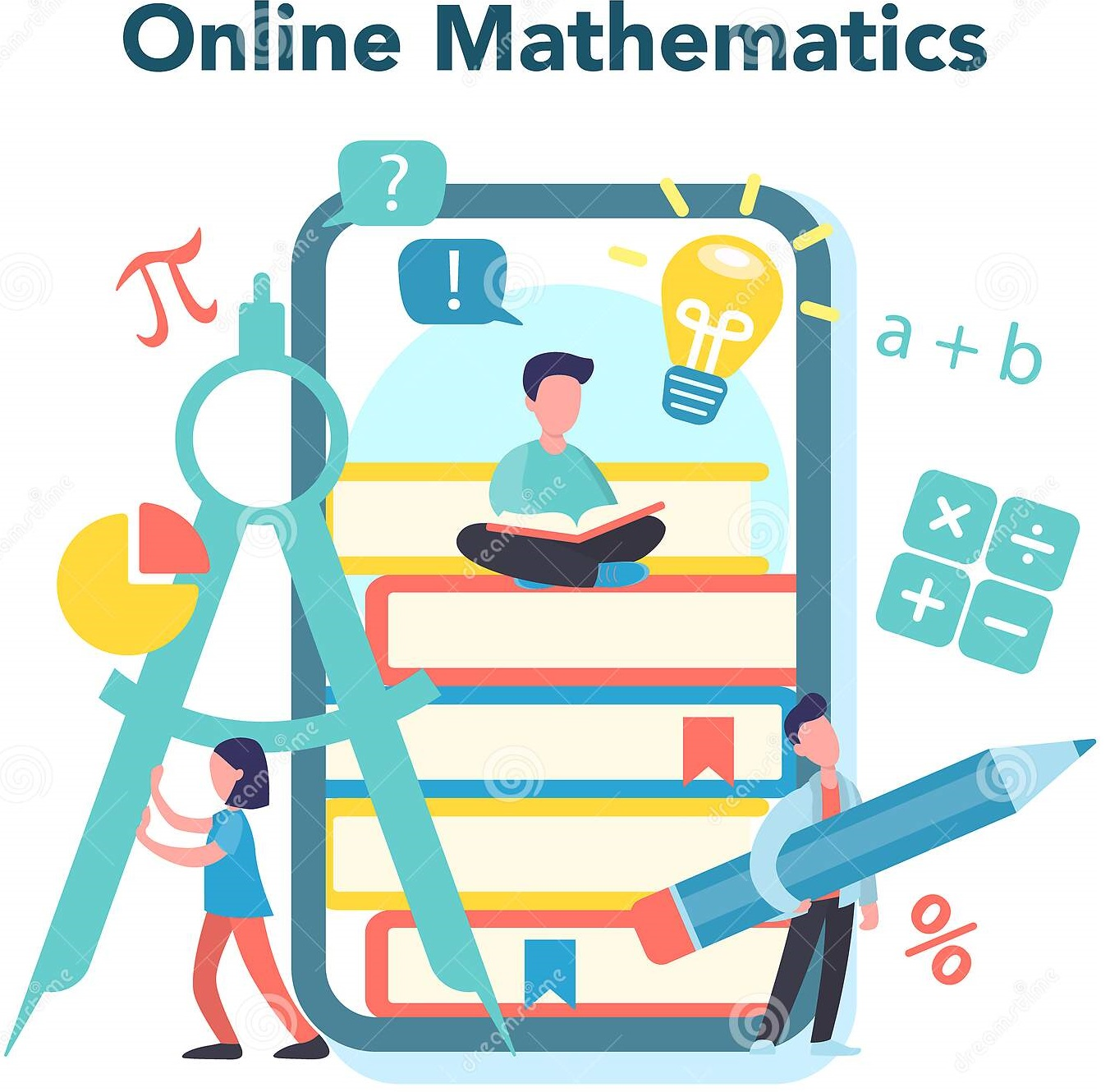 online-math-course-learning-mathematics-internet-idea-distance-education-knowledge-science-technology-engineering-181650713